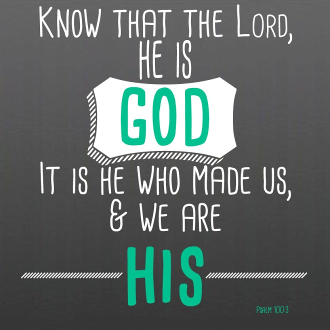 psalm 100.3